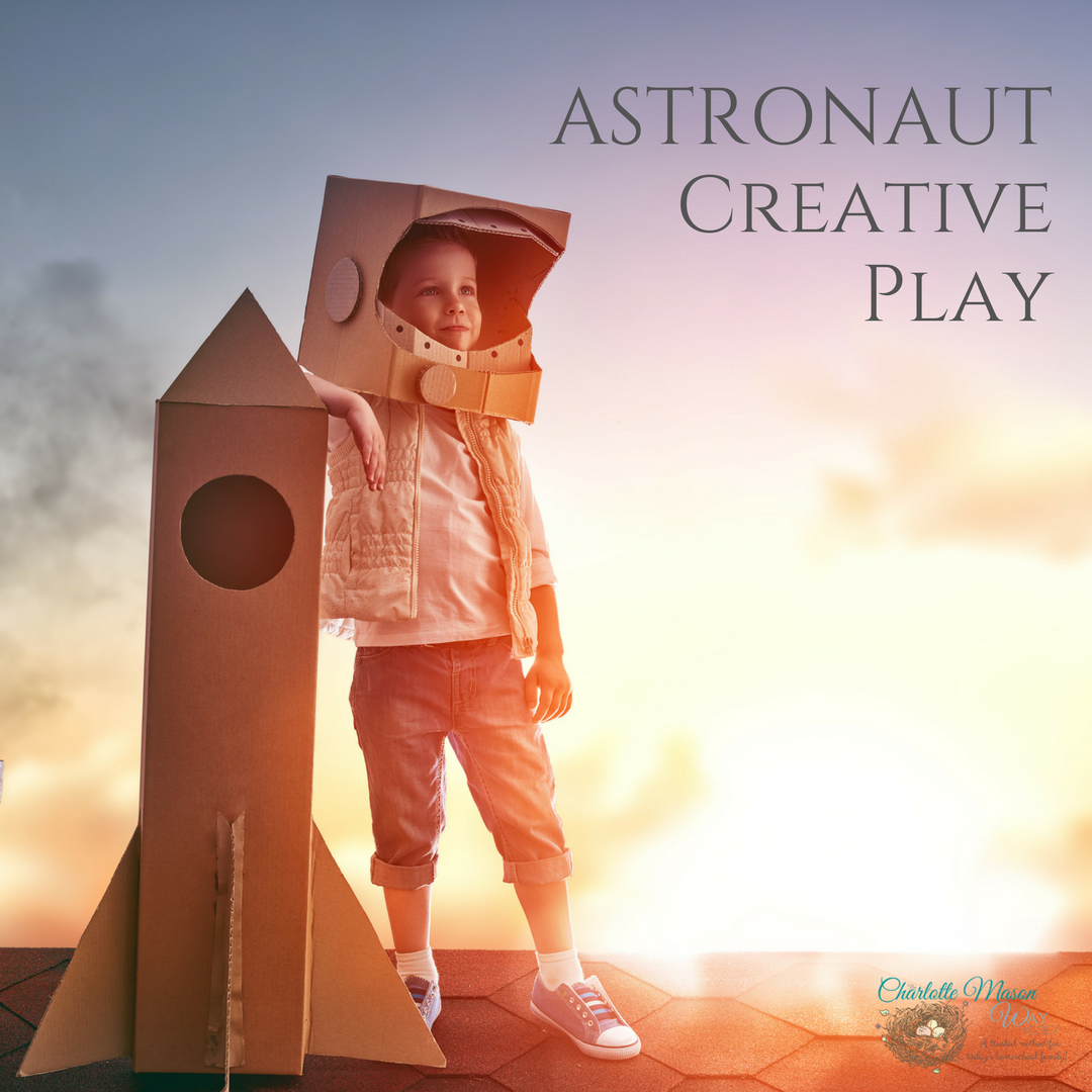 Astronaut Creative Play
