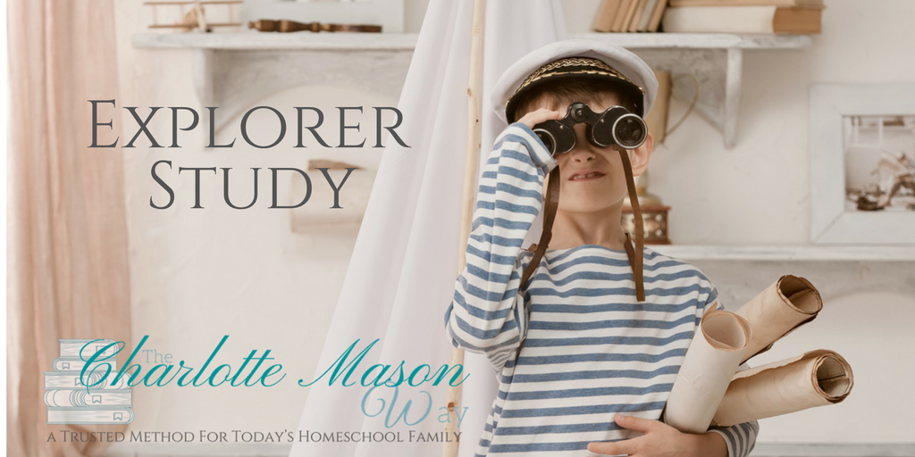 Explorer Study - Learn all about explorers, their ships, where they explored & much more in this explorer study perfect for those using the Charlotte Mason way or unit studies.