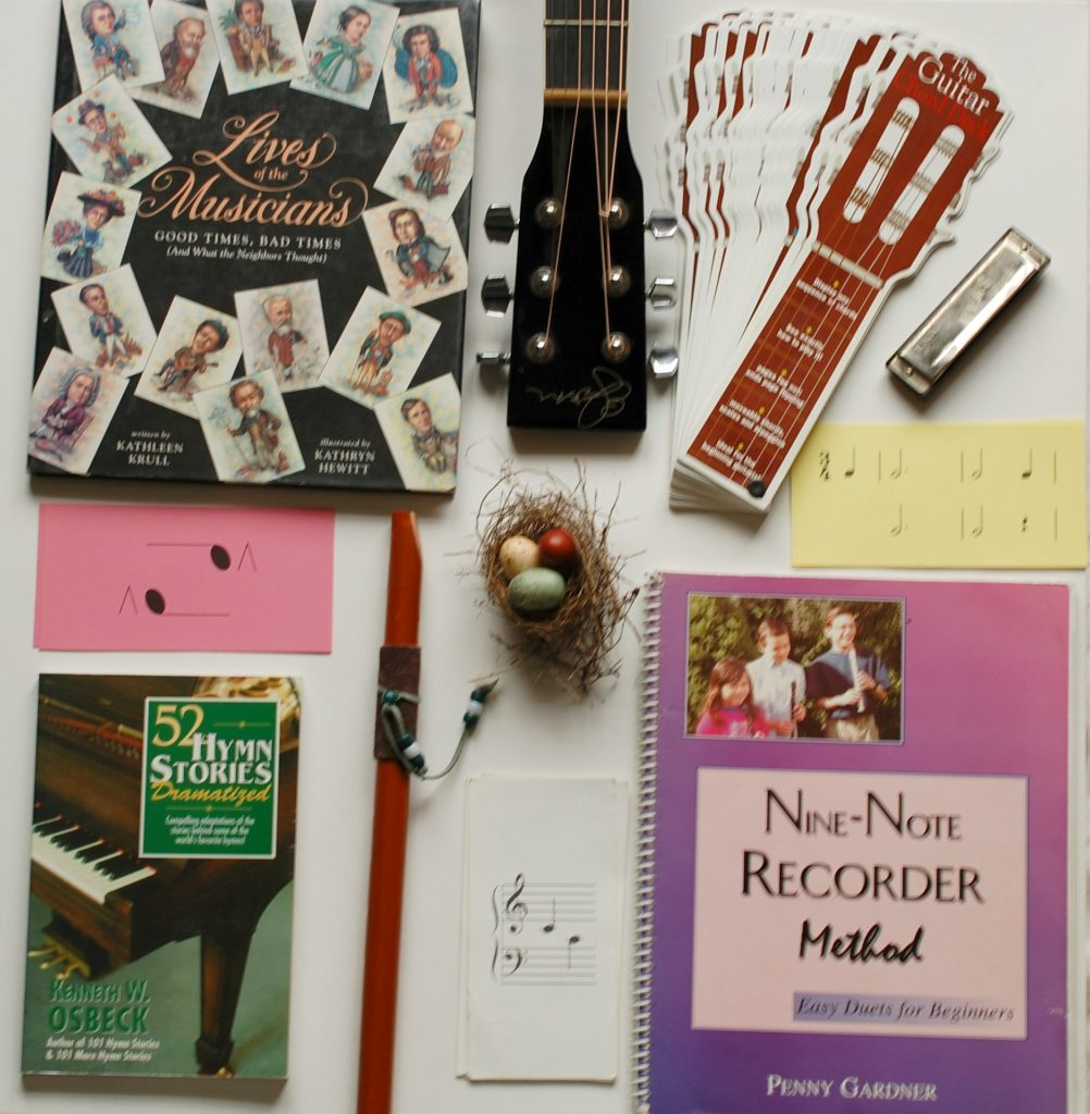Music Study - Introducing Your Children to the Composers, music theory, hymns and their first instruments.   www.thecharlottemasonway.com